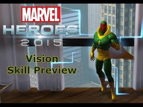 Marvel Heroes: Vision Skill Preview