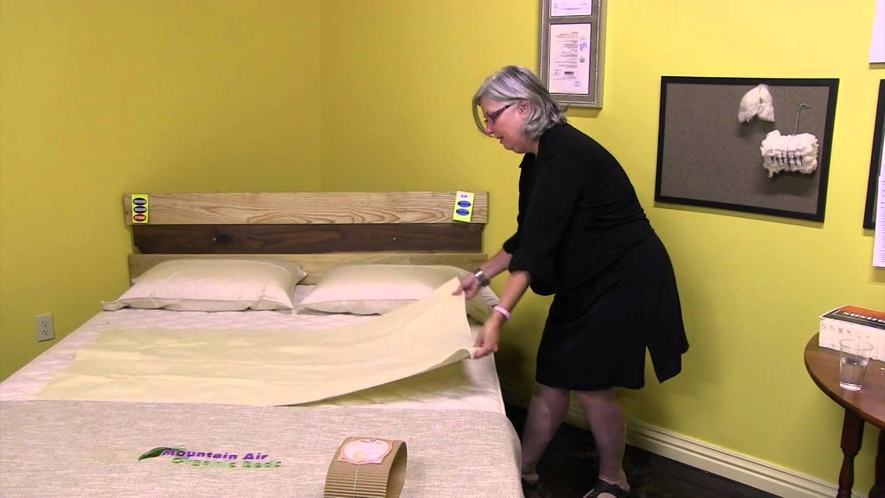 Organic Wool Topper Protects Your Mattress From Liquids By Mountain Air Beds V2 0