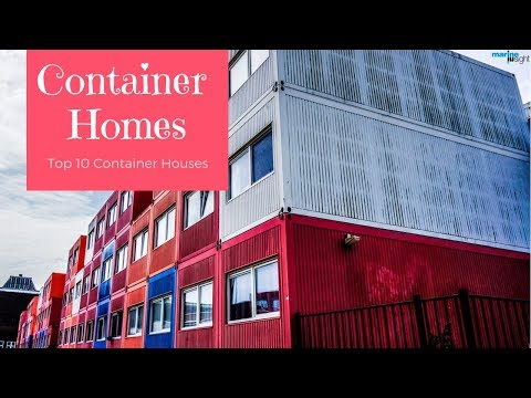 awesome houses made from shipping containers youtube. Black Bedroom Furniture Sets. Home Design Ideas