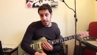 How to play 'November Rain' by Guns N' Roses Guitar Solo Lesson w/tabs pt1