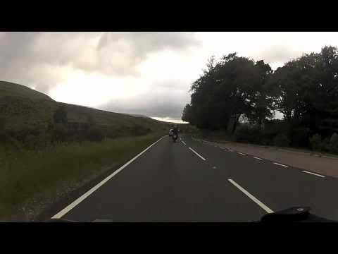 KTM 2012 The 990R Adventure OUT ON THE ROAD FILMED BY GOPRO ON CAN AM OUTLANDER
