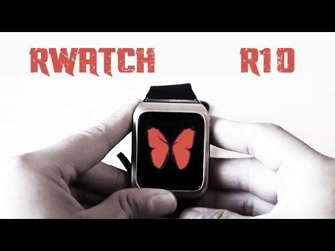 GearBest RWATCH R10 Smartwatch Review