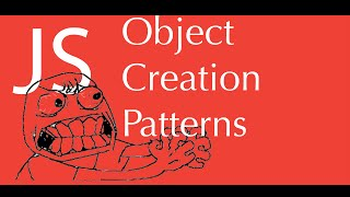 JavaScript object creation patterns tutorial - factory , constructor pattern, prototype pattern