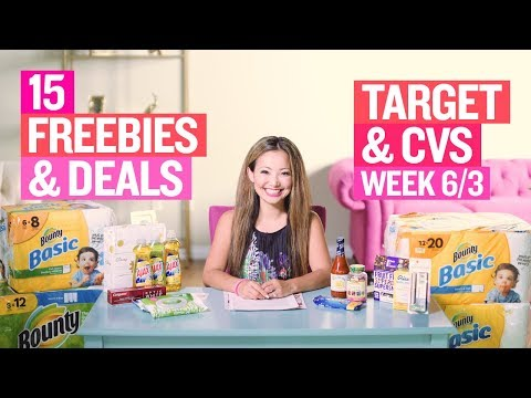★ 15 Target & CVS Coupon DEALS &...