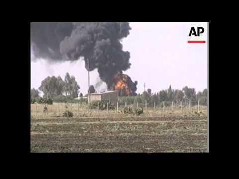 Eritrea - Airport bombed in border dispute