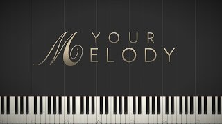 Your Melody - Jacob's Piano \\ Synthesia Piano Tutorial