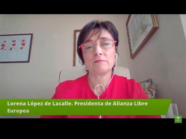 Lorena López de Lacalle, Presidenta de la ALE en nuestro Congreso