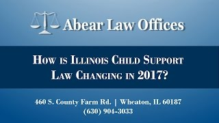 [[title]] Video - How is Illinois Child Support Law Changing in 2017?