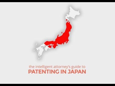 Patenting in Japan