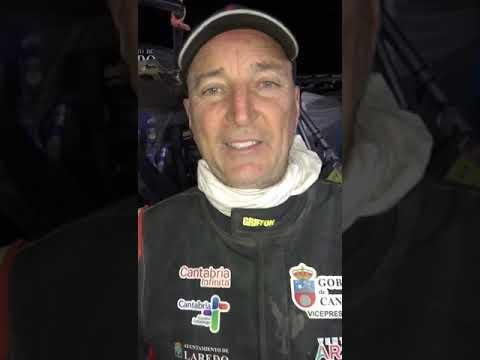 Resumen Chus Puras cuarta etapa Dakar