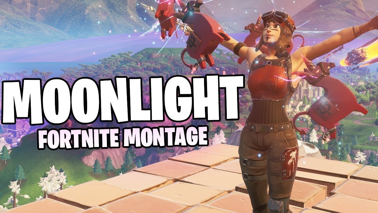 Fortnite MOONLIGHT montage ( very epic )