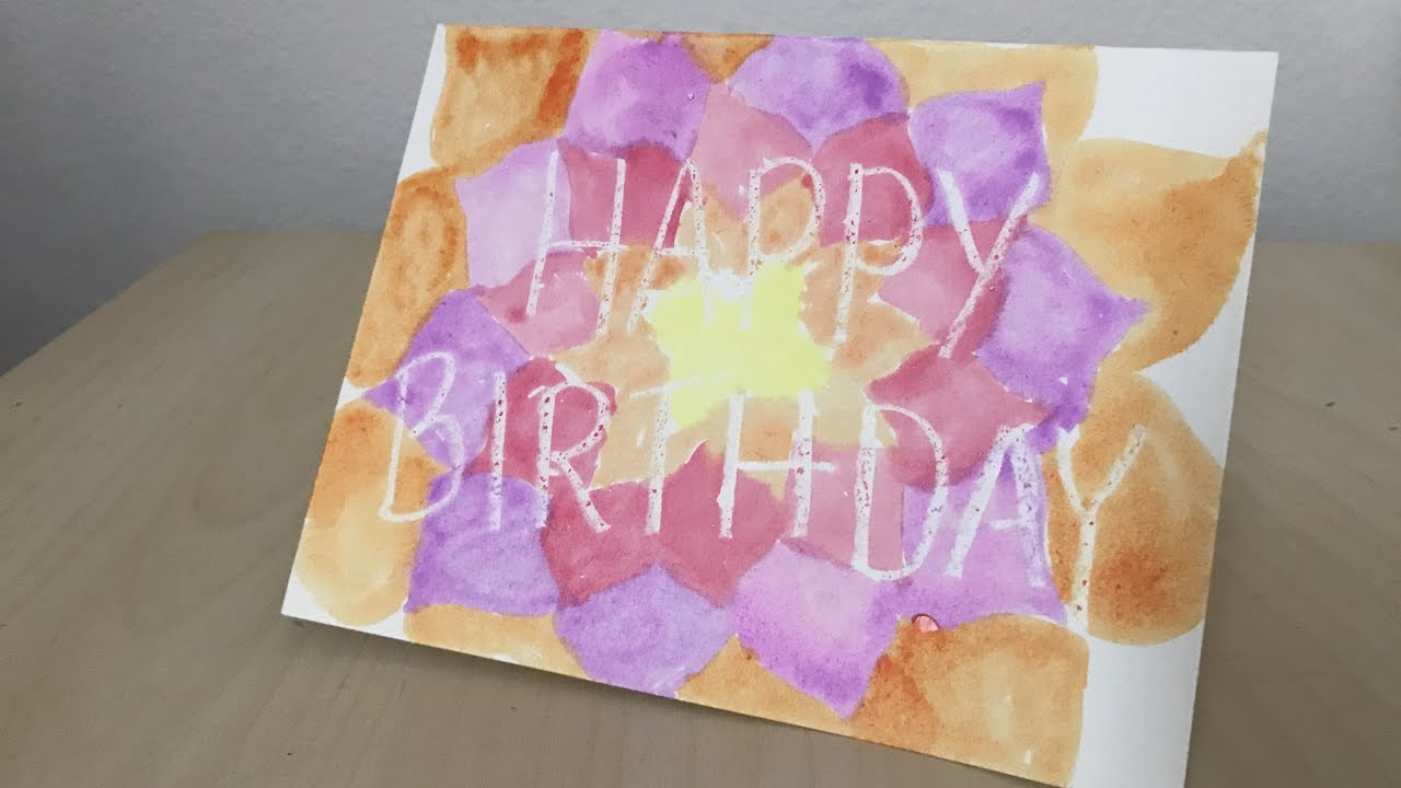 birthday party ideas crafts diy happy birthday card easy crafts for 3456