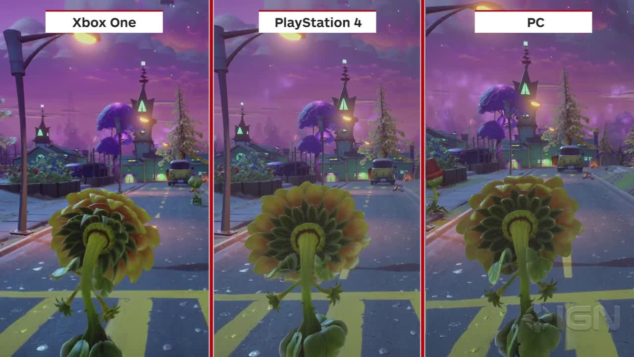 Plants vs zombies garden warfare 2 graphics comparison - Plants vs zombies garden warfare xbox one ...