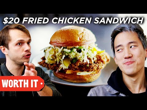 $5 Fried Chicken Sandwich Vs. $20 Fried Chicken Sandwich