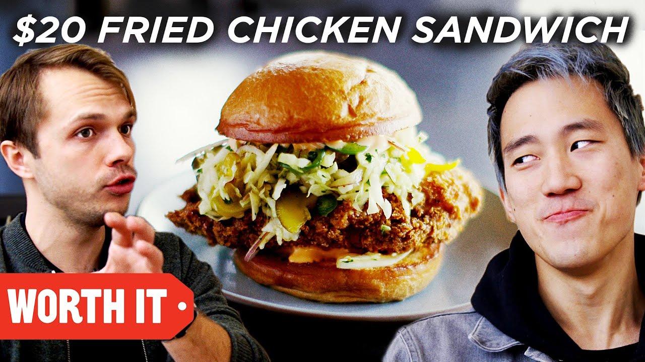 Download $5 Fried Chicken Sandwich Vs. $20 Fried Chicken Sandwich