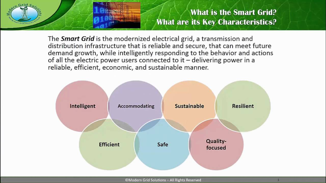 smart grids electricity for the future ieeex on edx course about video [ 1280 x 720 Pixel ]