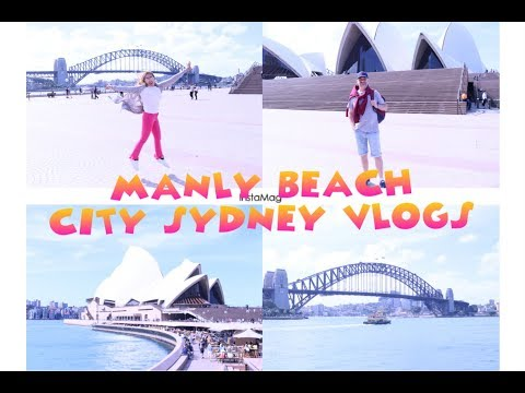 MANLY BEACH+SYDNEY DARLING HARBOUR+SYDNEY HARBOUR BRIDGE+CIRCULAY QUAY/PINKSLOVERS VLOGS