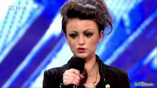 Cher Lloyd The X Factor 2010 audition - Keri Hilson - turn my swag on (Soulja Boy)
