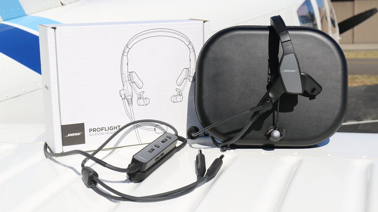 8d13d6f6980 Bose ProFlight Headset - In Flight Review in a CHEROKEE! - YouTube
