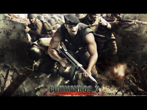 Commandos 3 Destination Berlin Walkthrough (03) - Infiltrate the Station  