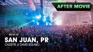 Life in Color - Rebirth Tour - San Juan, Puerto Rico - 06/01/2013 - Feat. Cazzette & David Solano