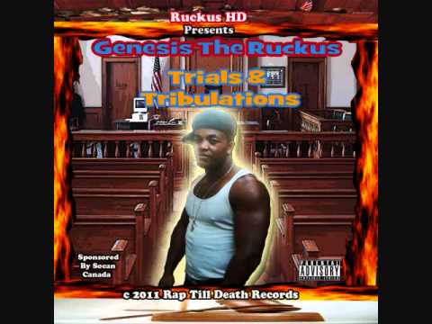Genesis The Ruckus (Blood Of Kingz) Bloody Xmas Album. Rap Till Death Records 2010/2011