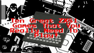 Video 10 Great ZX81 Games That You Really Need To Play! download MP3, 3GP, MP4, WEBM, AVI, FLV Oktober 2018