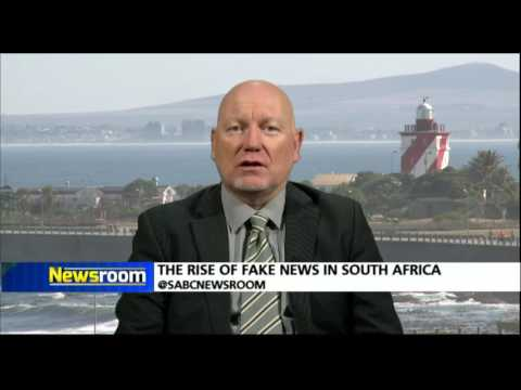 Newsroom: The rise of fake news in South Africa