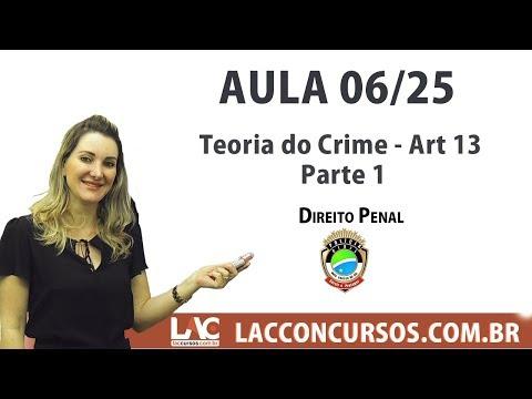 PC-MS 2017 Agente - Teoria do Crime - Art 13 - Parte 1 - Aula 06/25