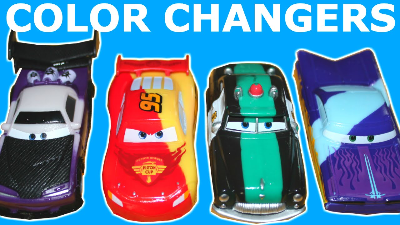 Cars Color Changers: NEW 2015 CARS COLOR CHANGERS TOYS LIGHTNING MCQUEEN