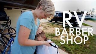 RV BARBERSHOP : RV Full-time w/9 kids