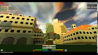My first vid bruh attack on titan roblox!!!!!!!!!!!