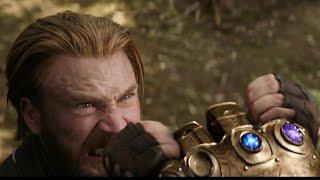 Captain America Vs Thanos!!