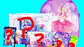 Barbie SURPRISE Bag Frozen Diary Dancing Princesses Rapunzel MagicClip