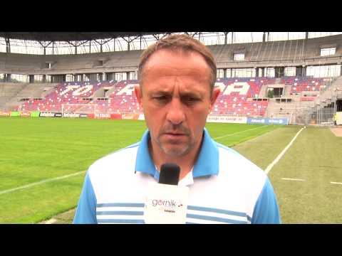 Robert Warzycha: Staramy się o wzmocnienia (27.06.2015)