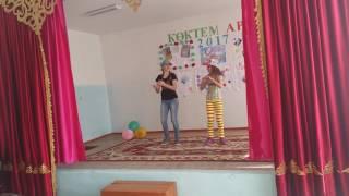 Танец папито Настя и Кристина