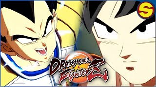 DRAGON BALL FIGHTERZ HOW TO DOWNLOAD BASE GOKU AND VEGETA