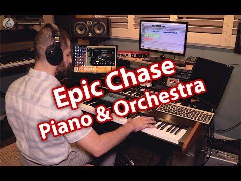 Korg Kronos 2 , Keyscape Piano and Native Instruments Orchestra
