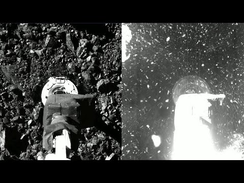 OSIRIS-REx Touches Asteroid Bennu