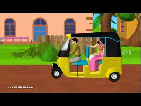 Learn Transport Vehicles for children - 3D Animation English preschool Nursery rhymes