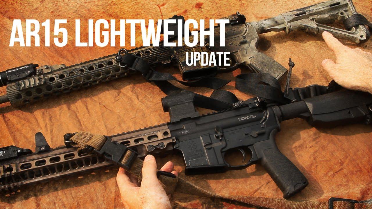 AR15 Lightweight Configuration UPDATE