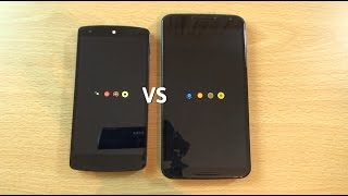 Nexus 6 VS Nexus 5 Android 6.0 Marshmallow DP3 - Which is Fastest?