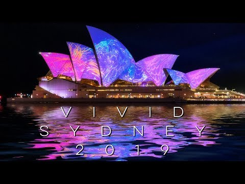 Vivid Sydney 2019 - Opera House, MCA, Customs House Displays