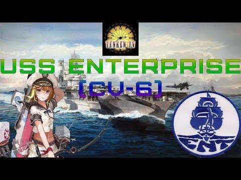 [TenkenTV] USS Enterprise (CV-6) Смелый герой.