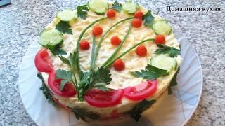 """🐟 САЛАТ МИМОЗА"""". 🐟 ПРОСТОЙ рецепт салата из консервированой рыбой!"""