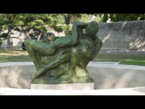 Hommage à Camille Claudel  au centre Hospitalier de  Montfavet  le Triomphe de l'Amour