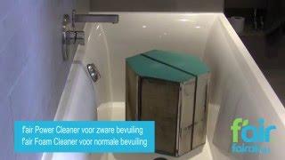 Reinigen van de wartemwisselaar / enthalpiewisselaar WTW ventilatiesysteem