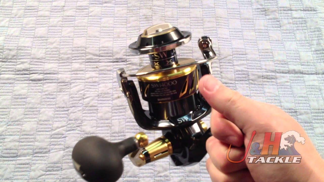 Shimano Stella SWB STL14000SWBXG Spinning Reel   J&H Tackle