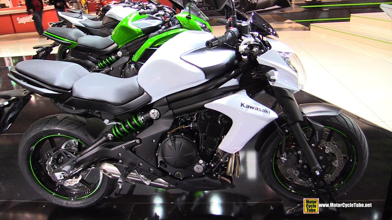 2015 kawasaki er6n walkaround 2014 eicma milan motorcycle exhibition youtube. Black Bedroom Furniture Sets. Home Design Ideas