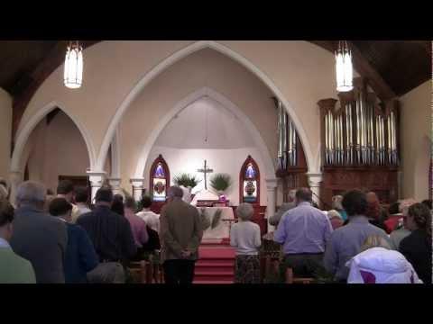 April 1, 2012: St. Mark's Episcopal Church, Durango, Colorado